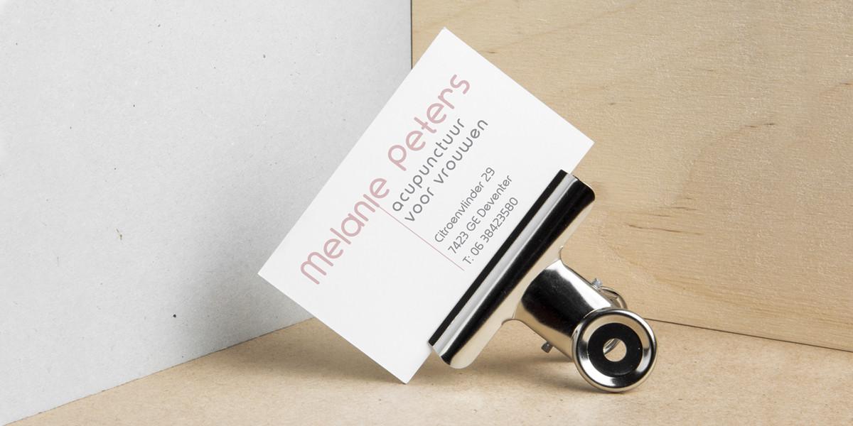Creatief Reclamebureau Maakmeesters - Arnhem - Acupunctuur voor vrouwen - corporate identity