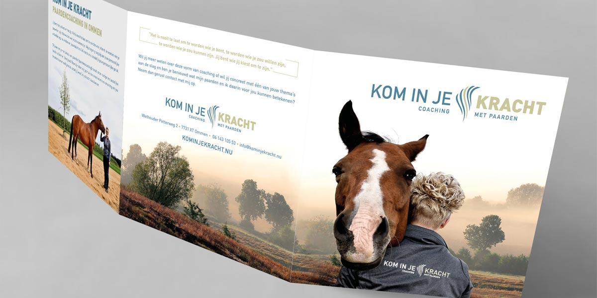 Creatief Reclamebureau Arnhem - Maakmeesters - Kom in je Kracht - Flyer