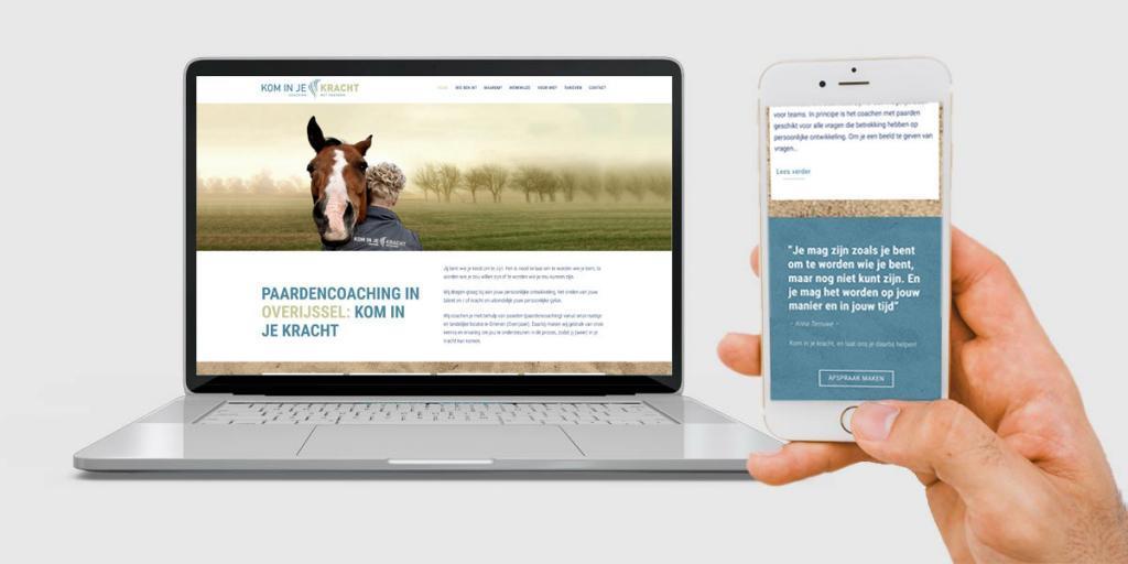 Creatief Reclamebureau Maakmeesters - Arnhem - Kom in je Kracht - Website