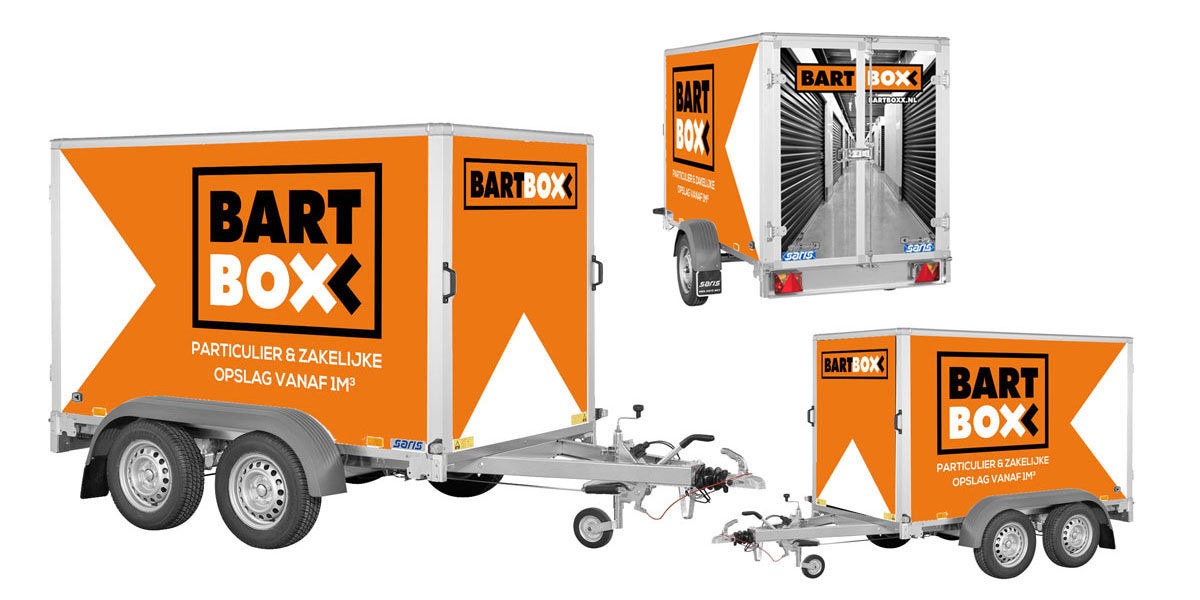 Creatief reclamebureau Arnhem - Maakmeesters - BartBoxx belettering