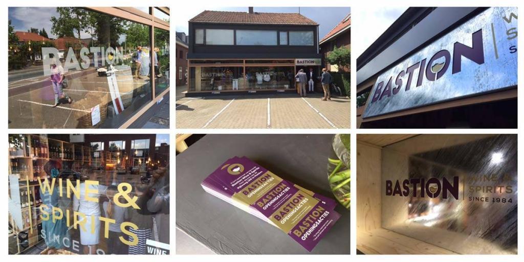 Creatief reclamebureau Arnhem - Maakmeesters - Bastion huisstijl