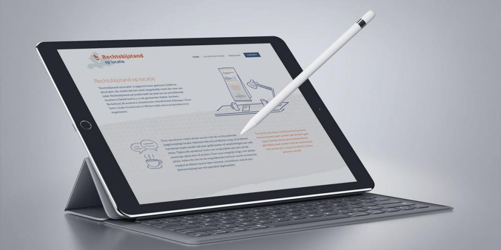 Creatief reclamebureau Arnhem - Maakmeesters - iPad - RIDG