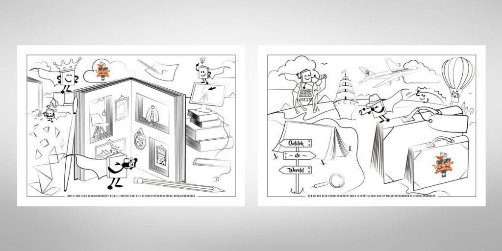 Creatief-reclamebureau-Arnhem-Maakmeesters-kleurplaten-Verhalenvangers