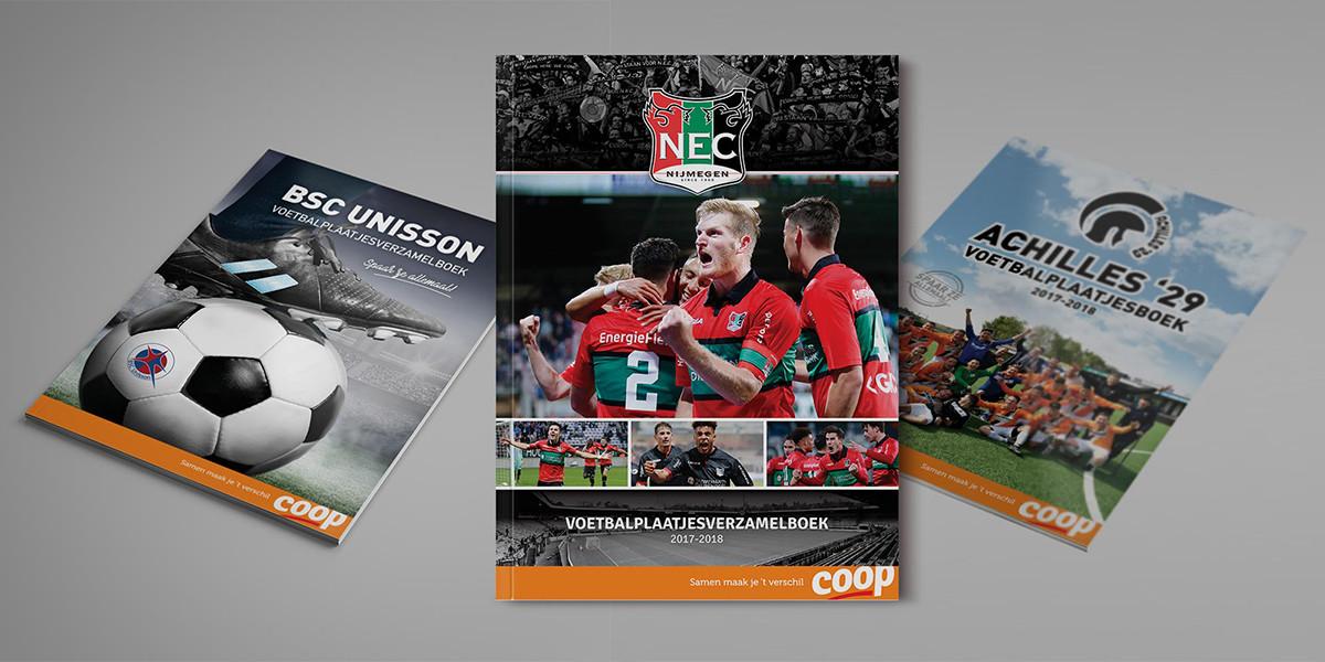 Creatief-reclamebureau-Arnhem-Maakmeesters-magazine-Voetbalplaatjesboeken