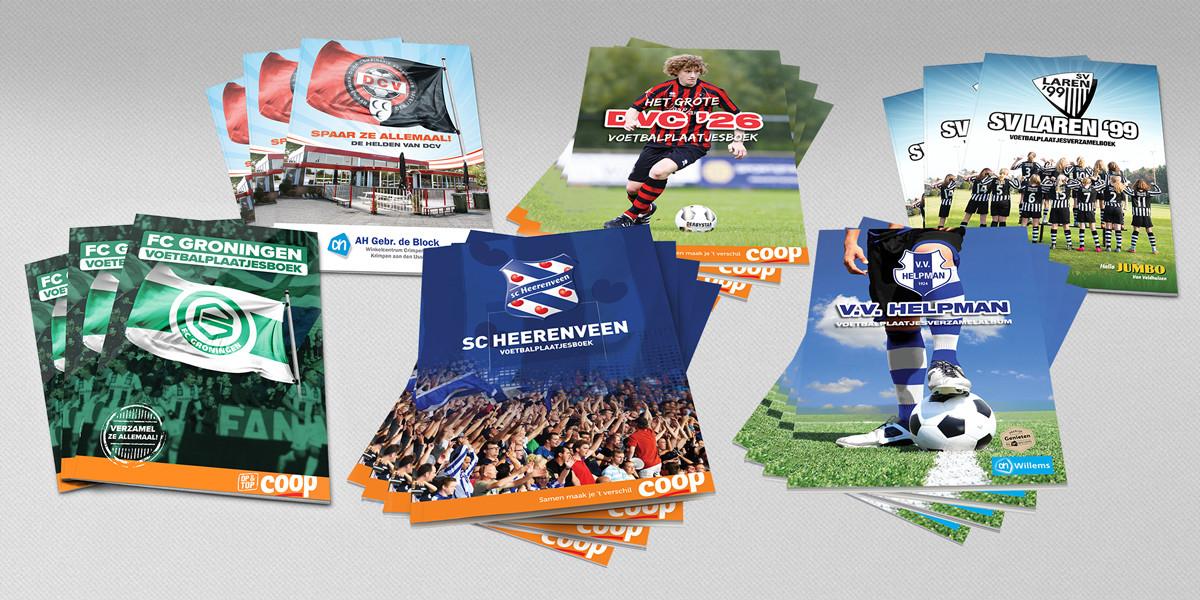 Creatief-reclamebureau-Arnhem-Maakmeesters-magazine-Voetbalplaatjesverzamelalbums