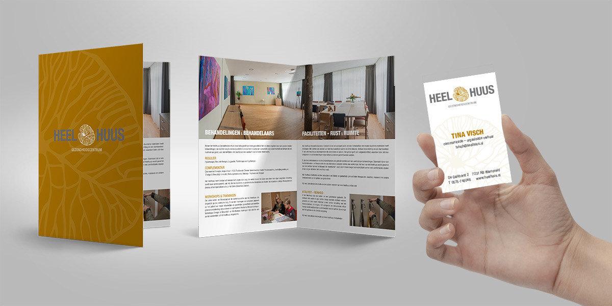 Creatief reclamebureau Arnhem - Maakmeesters - Heelhuus folder