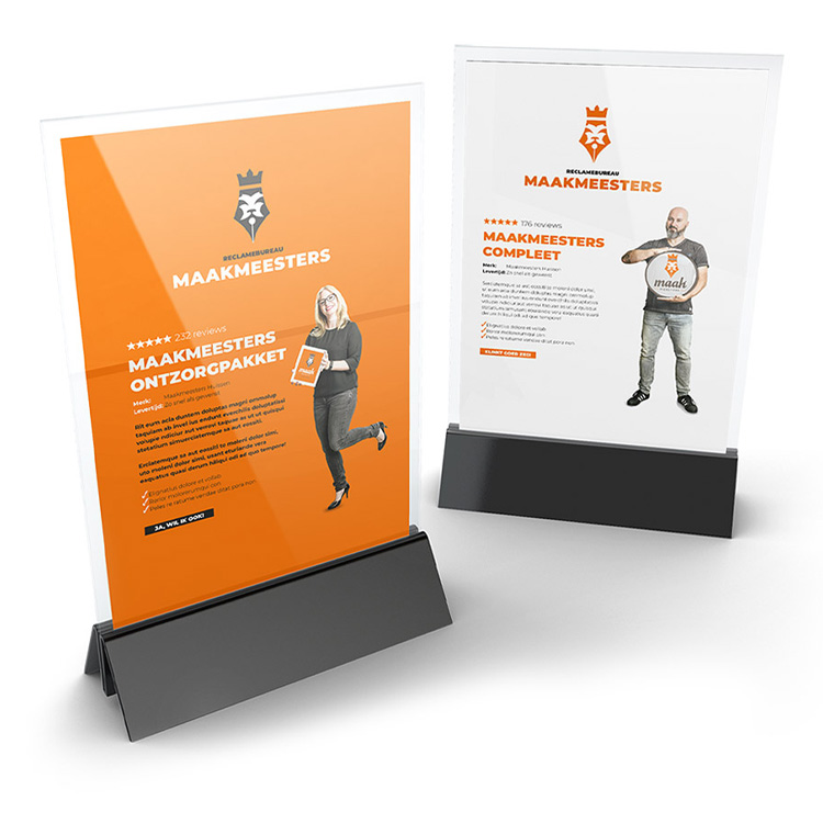 Maakmeesters ontzorgpakketten